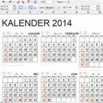 download kalender 2014 free