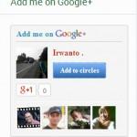 widget google plus untuk blog