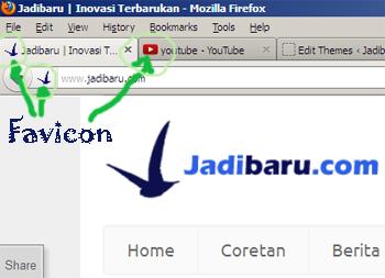memasang favicon pada wordpress