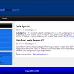 contoh website dengan codeigniter