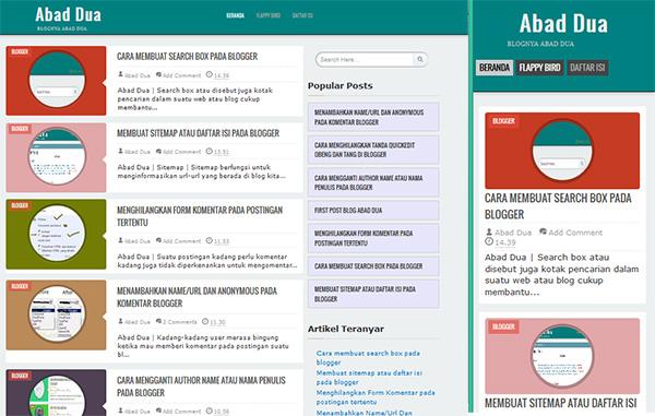 template blogger terbaru