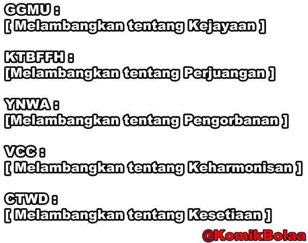 arti dari KTBFFH, YNWA, VCC, dan GGMU