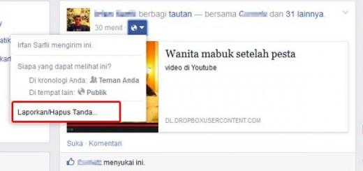 cara mengatasi spam cewe mabuk di facebook