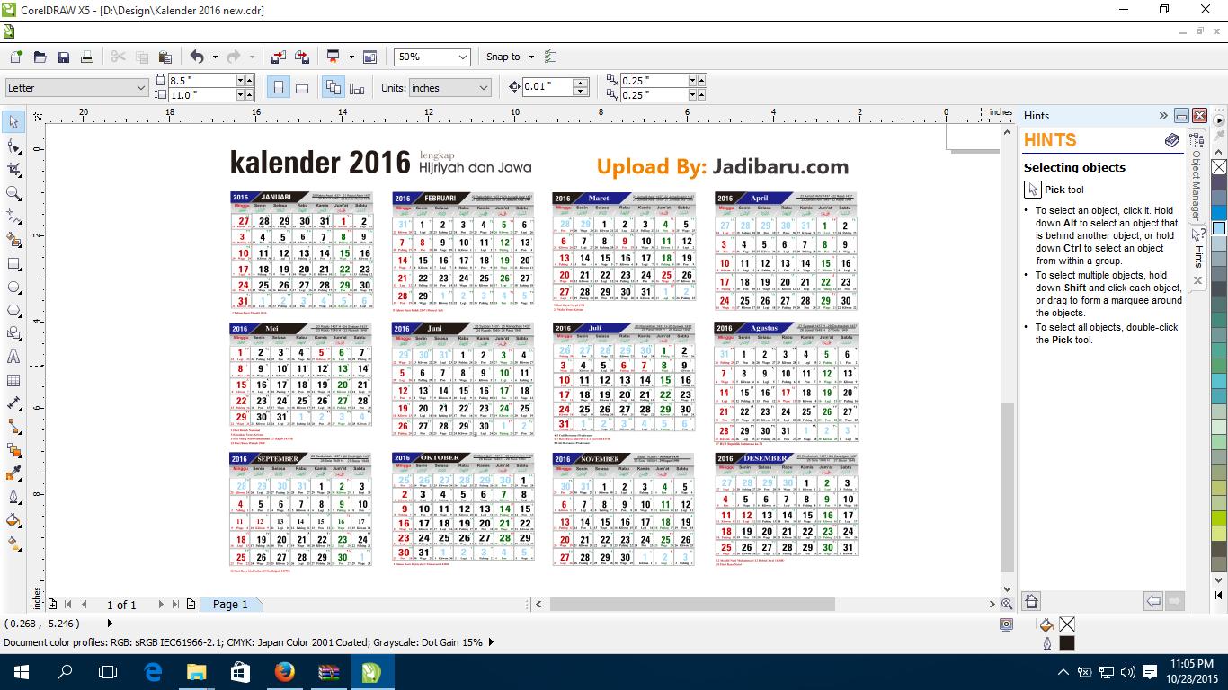 Kalender 2016 free